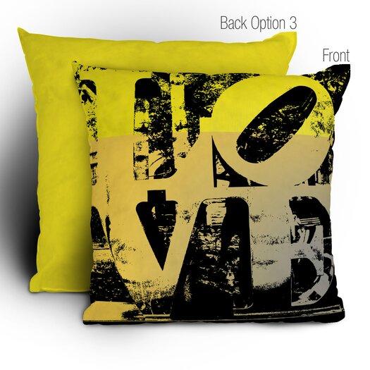 DENY Designs Amy Smith Philadelphia Love Throw Pillow