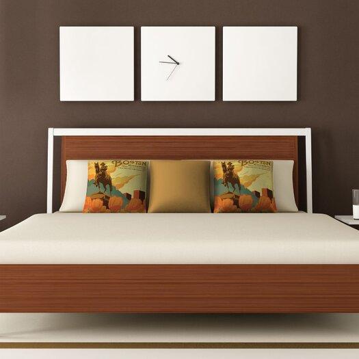 DENY Designs Anderson Design Group Boston Woven Polyester Throw Pillow