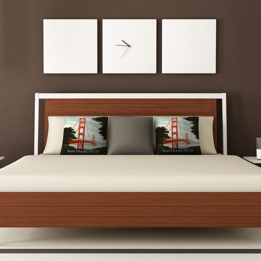 DENY Designs Anderson Design Group San Francisco Woven Polyester Throw Pillow