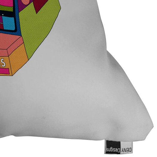 DENY Designs Bianca Green Captures Great Moments Woven Polyester Throw Pillow