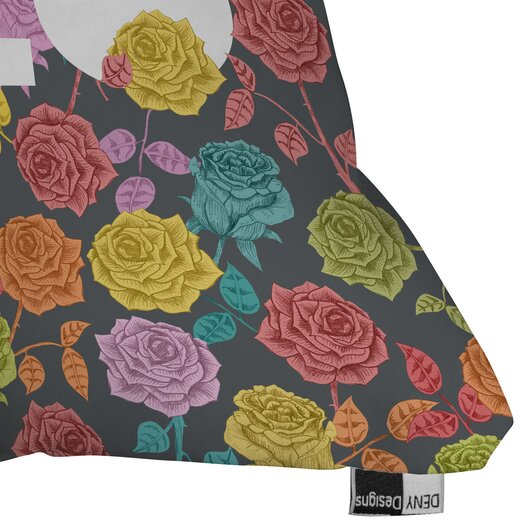 DENY Designs Bianca Green Yolo Woven Polyester Throw Pillow