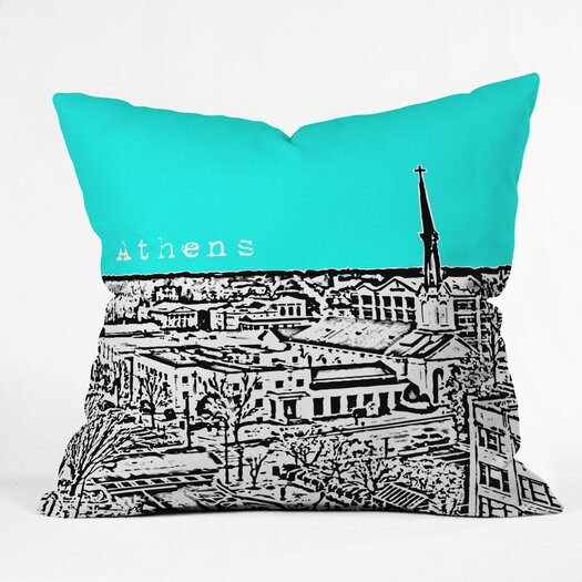 DENY Designs Bird Ave Athens Indoor/Outdoor Polyester Throw Pillow