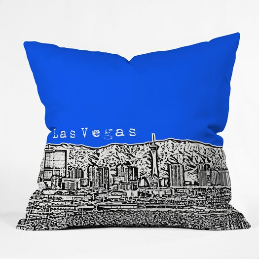 DENY Designs Bird Ave Las Vegas Indoor/Outdoor Polyester Throw Pillow