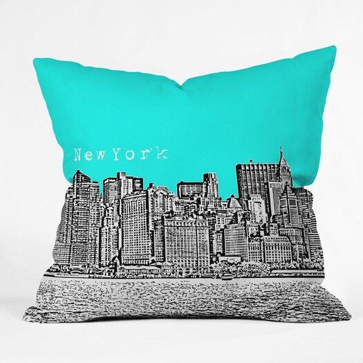 DENY Designs Bird Ave New York Indoor/Outdoor Polyester Throw Pillow