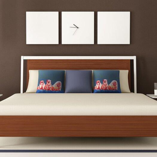 DENY Designs Clara Nilles Polarbear Woven Polyester Throw Pillow