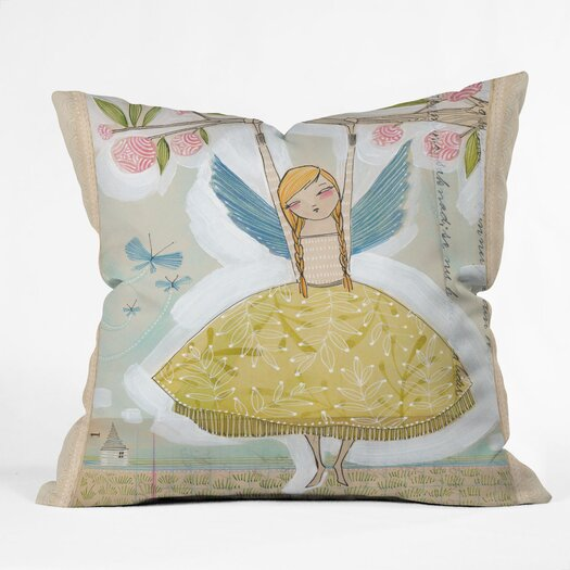 DENY Designs Cori Dantini Make A Little Memory Indoor / Outdoor Polyester Throw Pillow