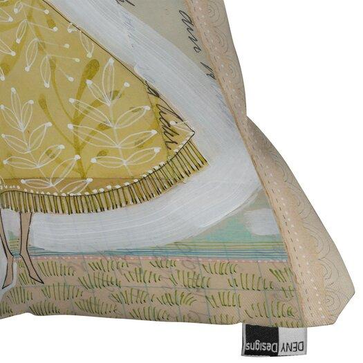 DENY Designs Cori Dantini Make A Little Memory Woven Polyester Throw Pillow