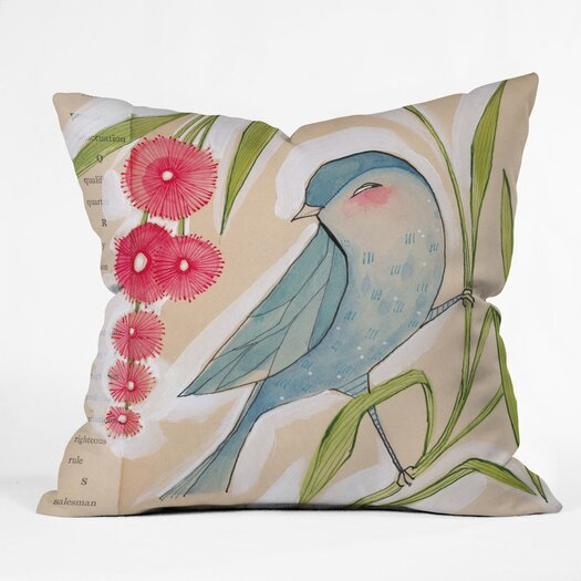 DENY Designs Cori Dantini Mister Woven Polyester Throw Pillow