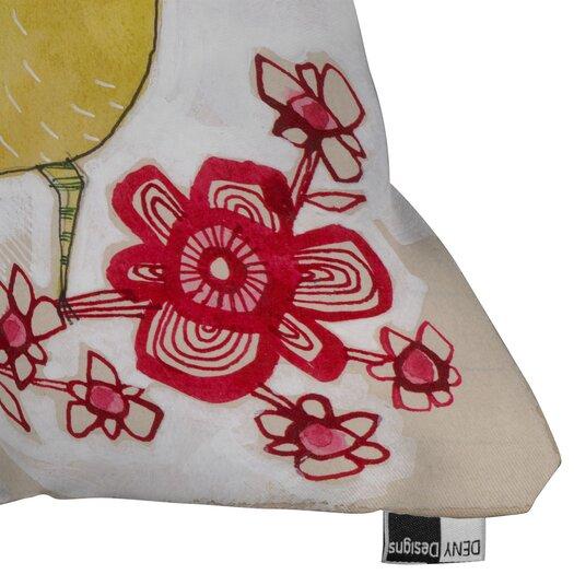 DENY Designs Cori Dantini Sweetie Pie Indoor / Outdoor Polyester Throw Pillow