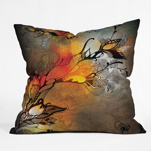 DENY Designs Iveta Abolina Before The Storm Woven Polyester Throw Pillow