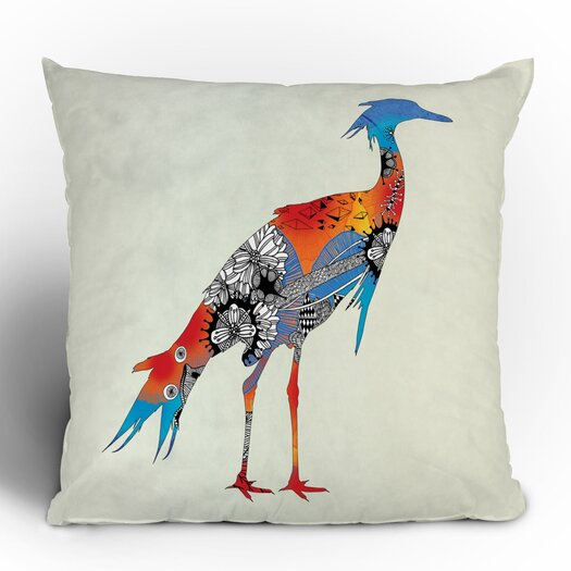 DENY Designs Iveta Abolina Bird Woven Polyester Throw Pillow