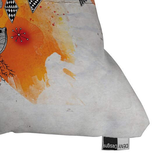 DENY Designs Iveta Abolina Forbbiden Thoughts Indoor / Outdoor Polyester Throw Pillow