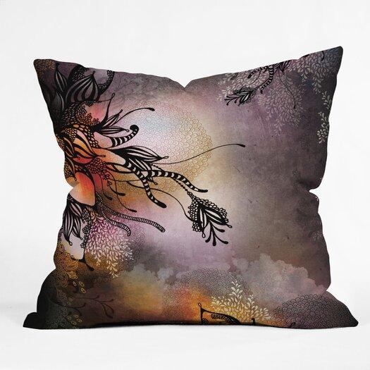 DENY Designs Iveta Abolina Rain Indoor / Outdoor Polyester Throw Pillow