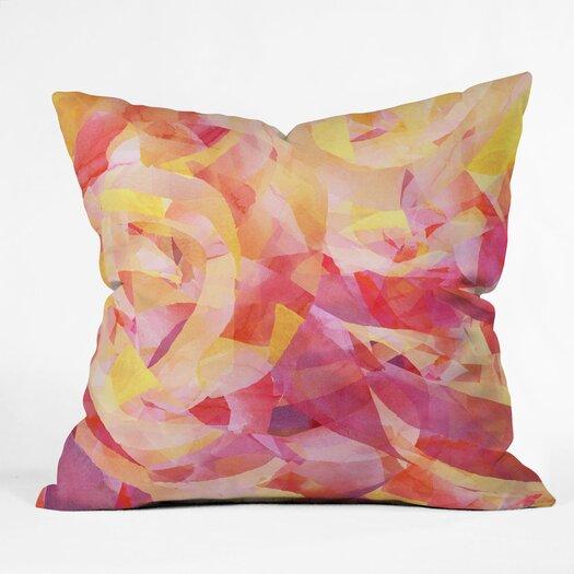 DENY Designs Jacqueline Maldonado Concentric Indoor / Outdoor Polyester Throw Pillow