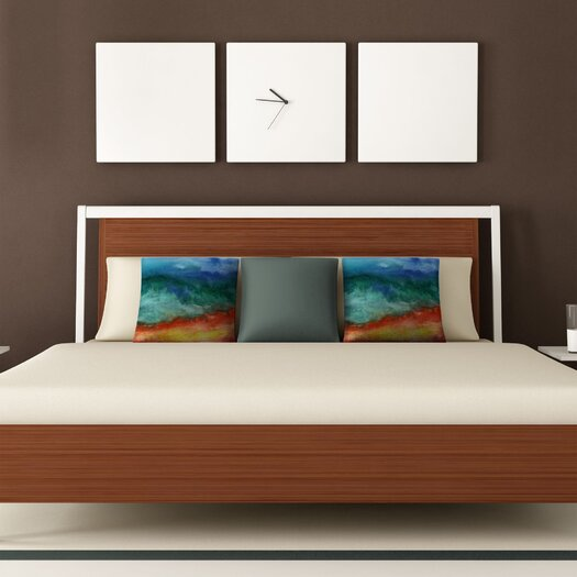 DENY Designs Jacqueline Maldonado Leaving California Polyester Throw Pillow