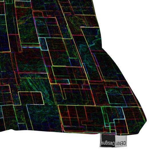 DENY Designs Jacqueline Maldonado Matrix Indoor / Outdoor Polyester Throw Pillow