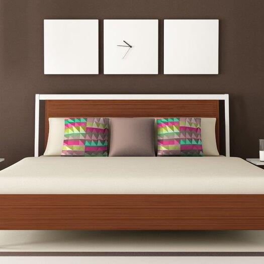 DENY Designs Jacqueline Maldonado Pyramid Scheme Polyester Throw Pillow
