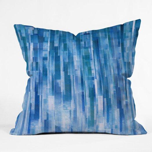 DENY Designs Jacqueline Maldonado Rain Indoor / Outdoor Polyester Throw Pillow