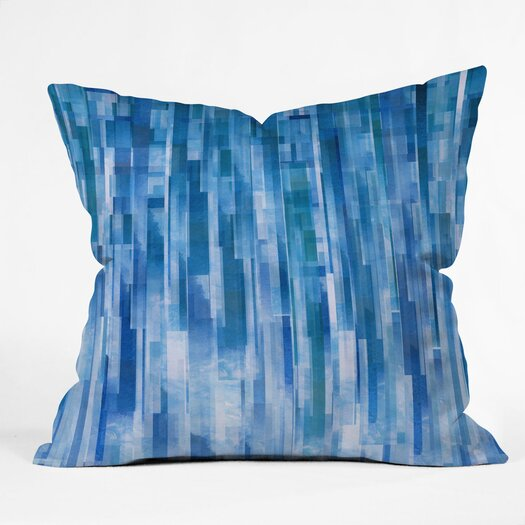 DENY Designs Jacqueline Maldonado Rain Polyester Throw Pillow