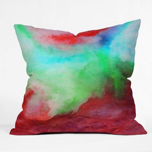 DENY Designs Jacqueline Maldonado The Red Sea Indoor / Outdoor Polyester Throw Pillow