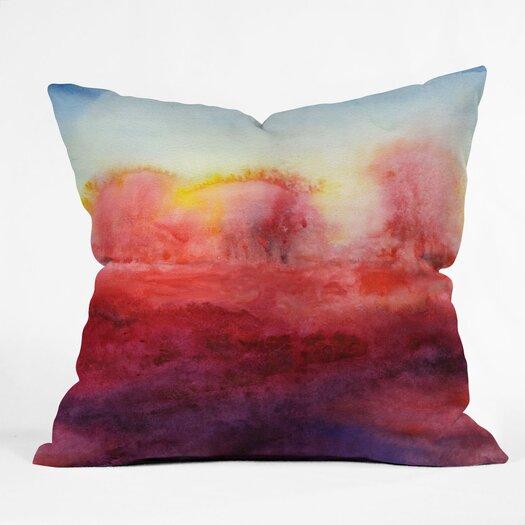 DENY Designs Jacqueline Maldonado Where I End Indoor / Outdoor Polyester Throw Pillow