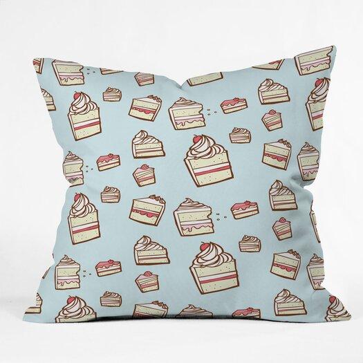 DENY Designs Jennifer Denty Cake Slices Indoor / Outdoor Polyester Throw Pillow
