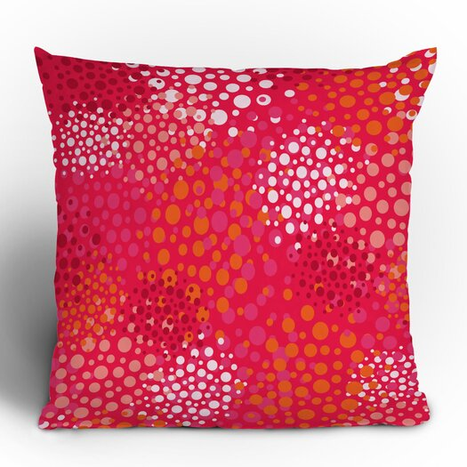 DENY Designs Khristian A Howell Brady Dots 2 Woven Polyester Throw Pillow