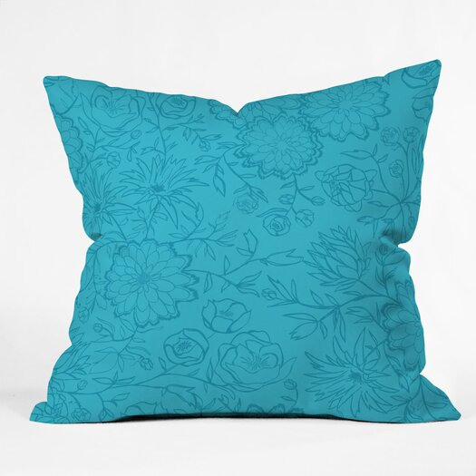 DENY Designs Khristian A Howell Desert Daydreams 2 Indoor / Outdoor Polyester Throw Pillow