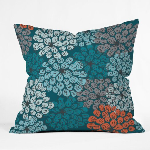 DENY Designs Khristian A Howell Greenwich Gardens 3 Indoor / Outdoor Polyester Throw Pillow