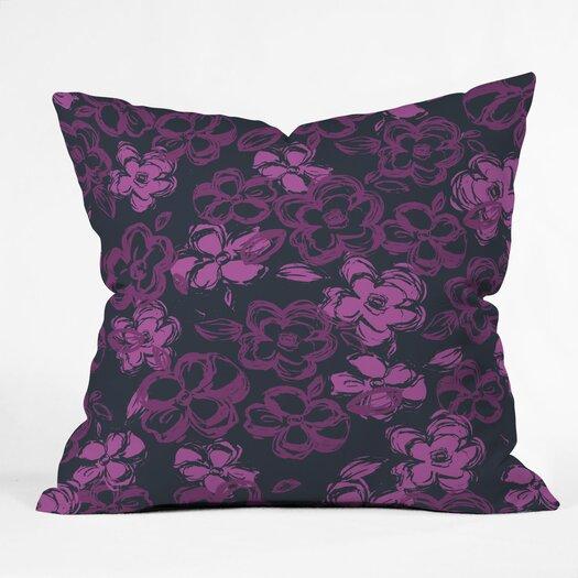 DENY Designs Khristian A Howell Russian Ballet Woven Polyester Throw Pillow