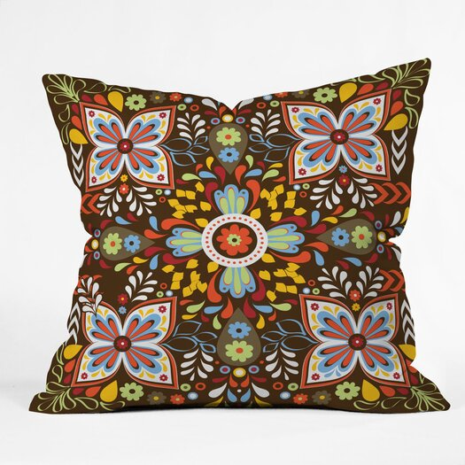 DENY Designs Khristian A Howell Wanderlust Indoor / Outdoor Polyester Throw Pillow