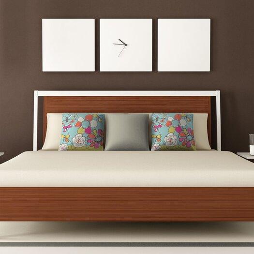 DENY Designs Rachael Taylor Fun Floral Woven Polyester Throw Pillow