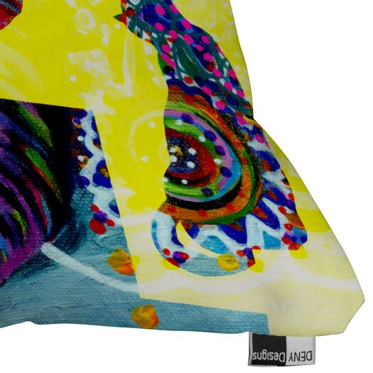 DENY Designs Randi Antonsen Cats 1 Woven Polyester Throw Pillow