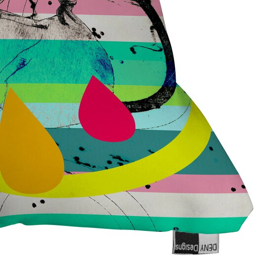 DENY Designs Randi Antonsen Luns Box 4 Indoor / Outdoor Polyester Throw Pillow