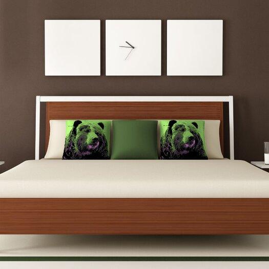 DENY Designs Romi Vega Bear Polyester Throw Pillow