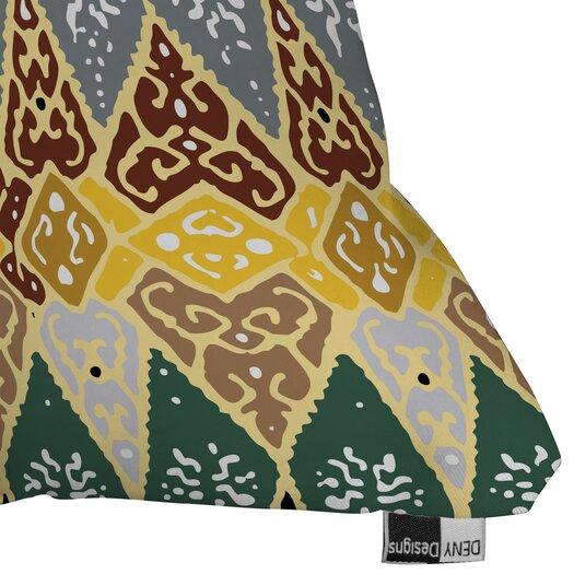 DENY Designs Romi Vega Polyester Diamond Tile Indoor / Outdoor Throw Pillow