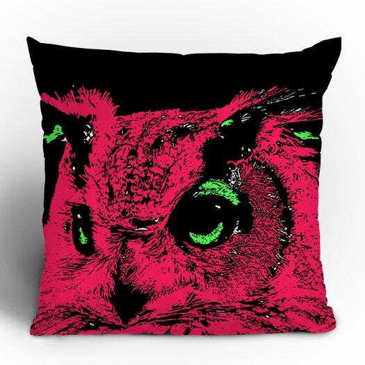 DENY Designs Romi Vega Owl Polyester Throw Pillow