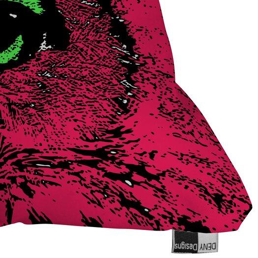 DENY Designs Romi Vega Owl Indoor/Outdoor Polyester Throw Pillow