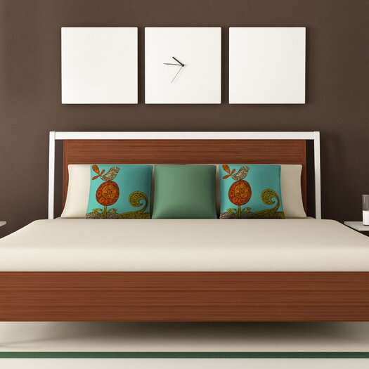 DENY Designs Valentina Ramos Bird in The Flower Polyester Throw Pillow