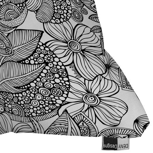 DENY Designs Valentina Ramos Doodles Indoor/Outdoor Polyester Throw Pillow