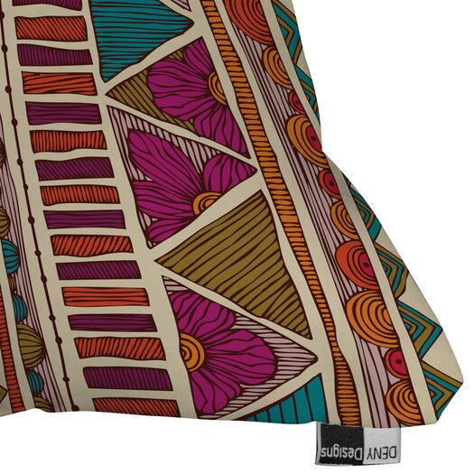DENY Designs Valentina Ramos Ethnic Stripes Indoor/Outdoor Polyester Throw Pillow