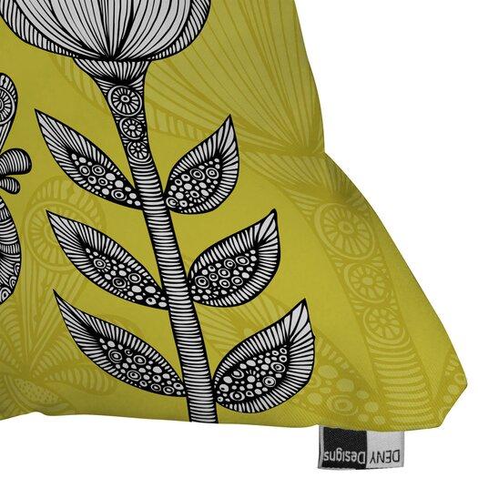 DENY Designs Valentina Ramos Green Garden Indoor/Outdoor Polyester Throw Pillow