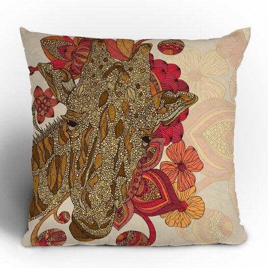 DENY Designs Valentina Ramos The Giraffe Polyester Throw Pillow