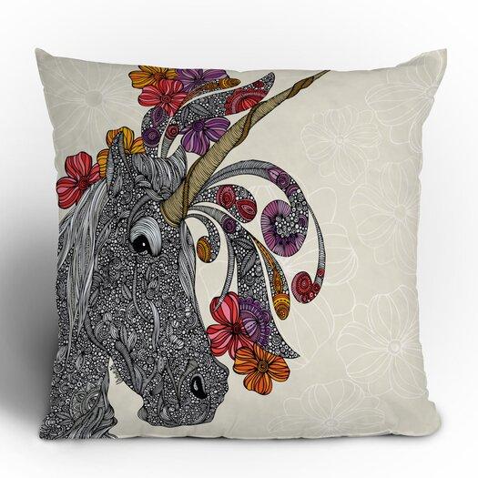 DENY Designs Valentina Ramos Unicornucopia Polyester Throw Pillow