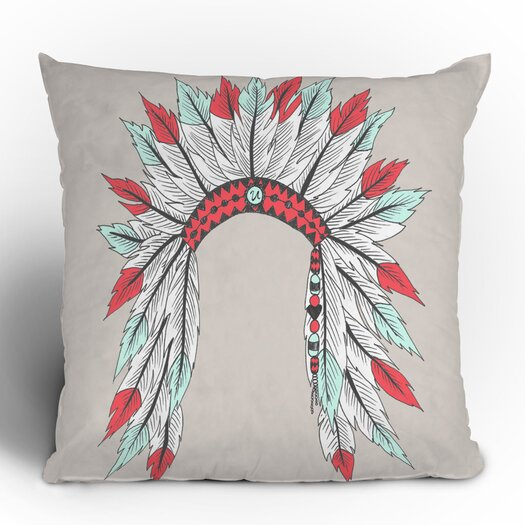 DENY Designs Wesley Bird Dressy Polyester Throw Pillow