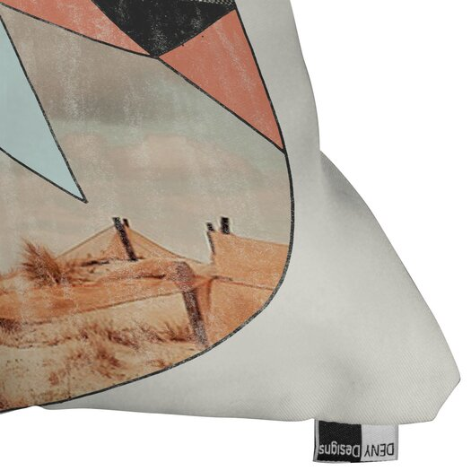DENY Designs Wesley Bird Dry Spell Indoor/Outdoor Polyester Throw Pillow