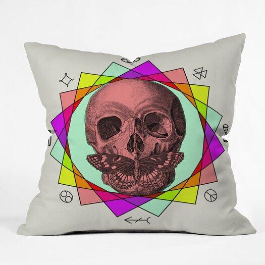 DENY Designs Wesley Bird True Sign Art Indoor/Outdoor Polyester Throw Pillow