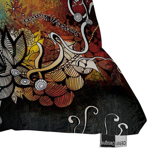 DENY Designs Iveta Abolina Frozen Dreams Indoor / Outdoor Polyester Throw Pillow