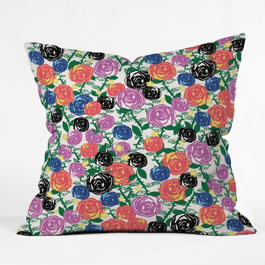 DENY Designs Khristian A Howell Valencia 05 Indoor / Outdoor Polyester Throw Pillow