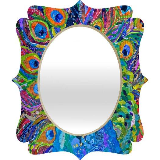DENY Designs Elizabeth St Hilaire Nelson Cacophony of Color Quatrefoil Mirror